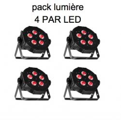 Location 4 par LED 5X3W
