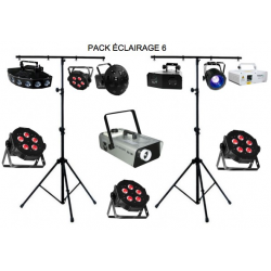 Location Pack Éclairage 6